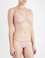 Wolford Sheer mesh underwired bra