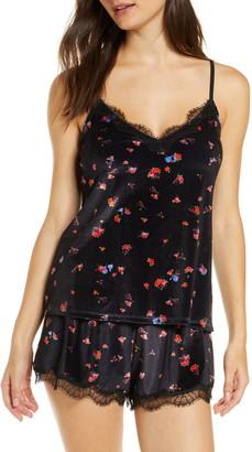 Jason Wu Collection Velvet Short Pajamas