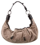 Chloé Large Leather & Suede Hobo