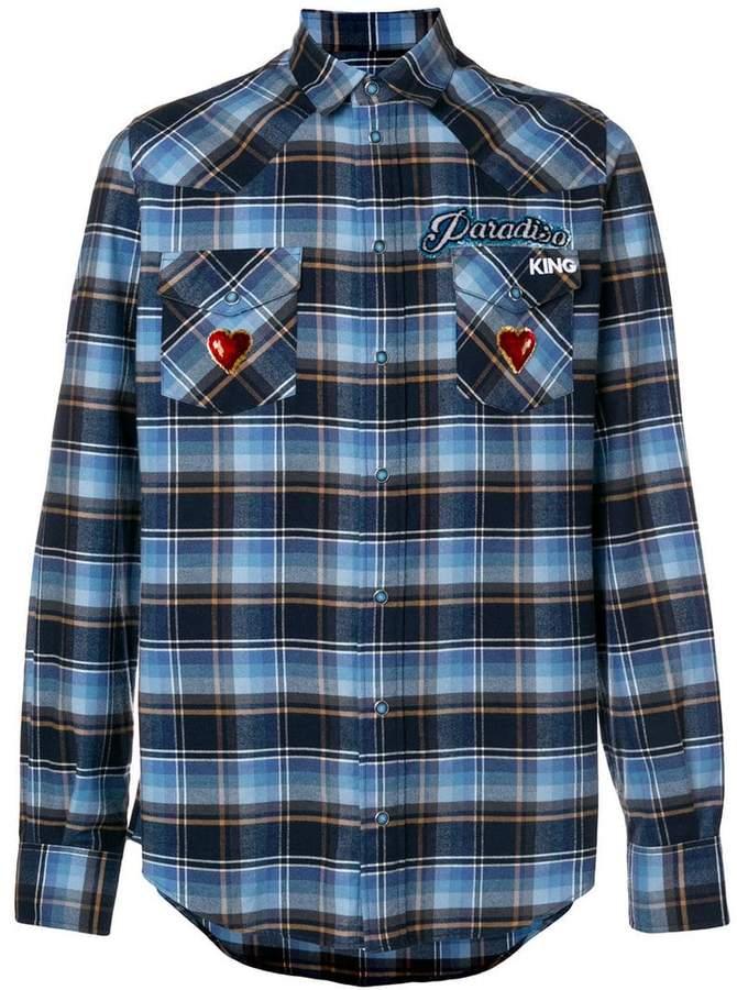 Dolce & Gabbana check shirt