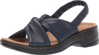 Trotters Women's Nella Sandal Blue 9.5 W US