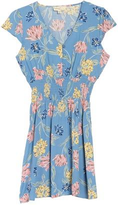 BeBop Cap Sleeve Smocked Waist Dress