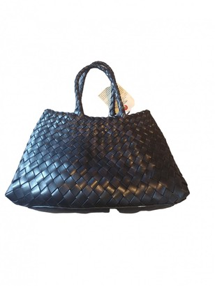 DRAGON DIFFUSION Black Leather Handbags