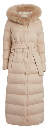 Herno Fur Trim Quilted Coat