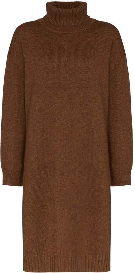 REJINA PYO turtleneck knit knee-length dress