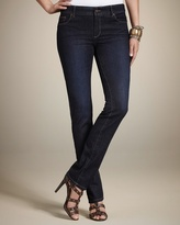 Chico's Platinum Denim Pier Blue Wash Slim-Leg Jean
