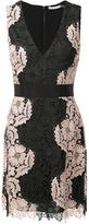 Alice + Olivia Alice+Olivia - floral lace V-neck dress - women - Polyester - 4
