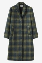 Toast Brushed Wool Mohair Coat
