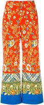 Tory Burch floral print palazzo pants