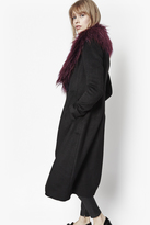 Wonderland Faux Fur Collar Coat