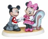 Precious Moments Disney Showcase Disney Mickey and Minnie Engagement Figurine