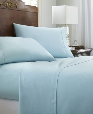 IENJOY HOME Expressed In Embossed by The Home Collection 4 Piece Bed Sheet Set, Full Bedding