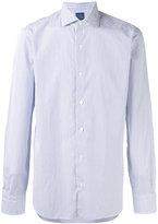 Barba striped shirt - men - Cotton - 42