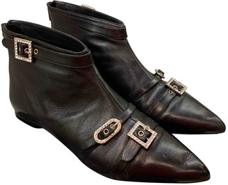 Gianni Marra Black Leather Boots
