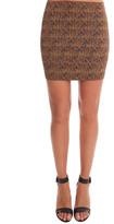 Pleasure Doing Business Banded Mini Skirt