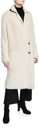 3.1 Phillip Lim Oversized Boucle Cardigan Coat