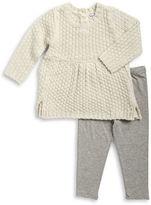 Splendid Lurex Knit Tunic and Leggings Set