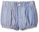 Gap Texture stripe bubble shorts