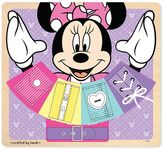 Melissa & Doug Disney Mickey Mouse & Friends Minnie Mouse Wooden Basic Skills Board by