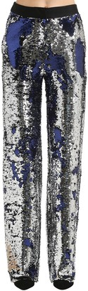 Act N�1 Sequined Wide Leg Pants