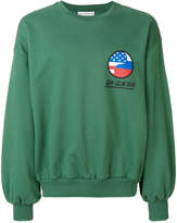 Gosha Rubchinskiy logo patch sweatshirt