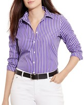 Lauren Ralph Lauren Plus Striped Shirt
