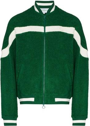 Casablanca Striped Terry Cloth Track Jacket