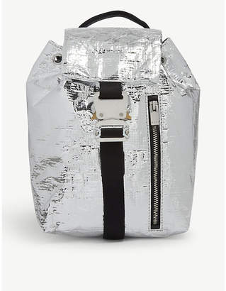 Alyx Baby-x silver foil mini backpack