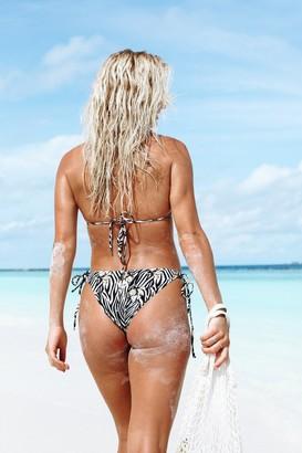 Mavele Swimwear Golden Cobra Bikini Bottom