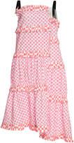 Loewe Asymmetrical Waffle Dress