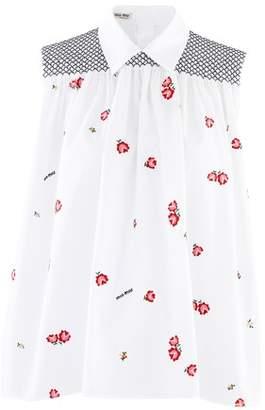 Miu Miu Sleeveless shirt
