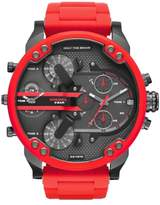 Diesel R) 'Mr. Daddy' Chronograph Silicone Strap Watch, 57mm