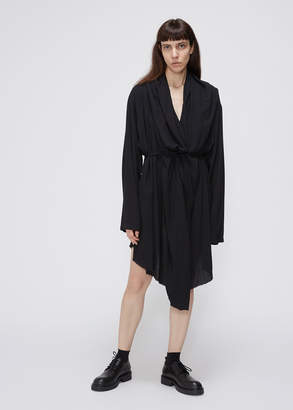 Ann Demeulemeester Long Sleeve Layer Dress