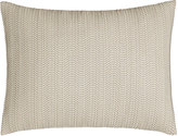 "Donna Karan Home Moonscape Faux-Leather Pillow, 12"" x 16"""