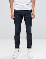 Diesel Stickker Super Skinny Jeans 856V