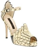 Chrissie Morris Open toe shoe