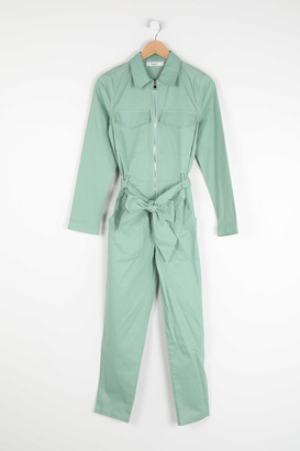 Daphnea - Green Pants Jumpsuit - Size M