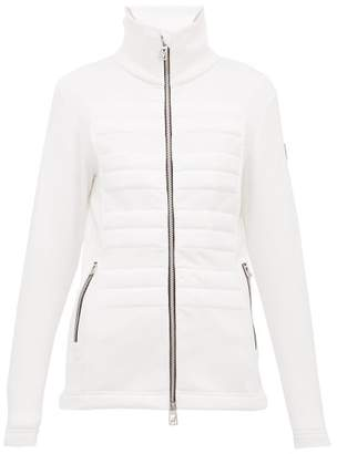 Toni Sailer Uma Quilted-front Zip-though Jacket - Womens - White