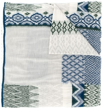 Plantation Abstract Pattern Scarf