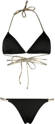 Reina Olga Hawn triangle-top bikini set