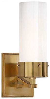 Thomas O'Brien For Visual Comfort Marais Bath Sconce - Brass/White