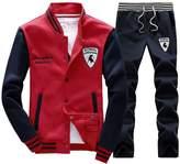 Rocky Sun Mens Slim Fit Jogging Sweat Suits Casual Tracksuits + Pants L/G l