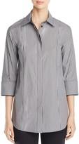Lafayette 148 New York Claude Stripe Shirt