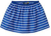 Ralph Lauren 2-6X Striped Poplin Pull-On Skirt