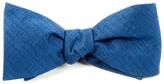 The Tie Bar Royal Blue Debonair Solid Bow Tie