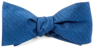 Tie Bar Debonair Solid Royal Blue Bow Tie