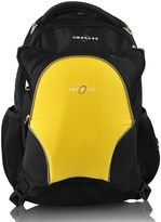 Obersee Olso Diaper Bag Backpack with Detachable Cooler in Black/Yellow