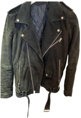 BLK DNM Black Suede Jacket for Women