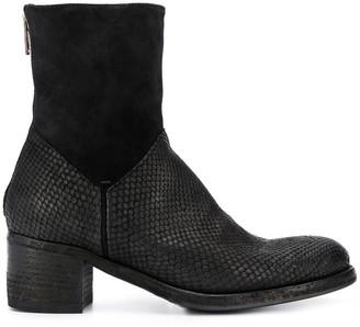 Pantanetti Snakeskin-Effect Boots