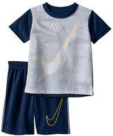 Nike Boys 4-7 Swoosh Tee & Shorts Set